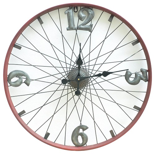 Bike Design Wall Clock : Description