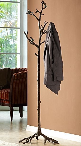 ... branch coat hat rack uniquely designed tree trunk branch coat rack