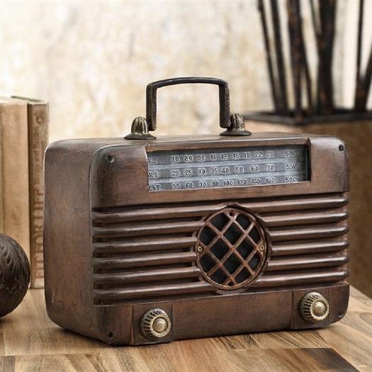 antique replica old time radio bluetooth speaker vintage. Black Bedroom Furniture Sets. Home Design Ideas