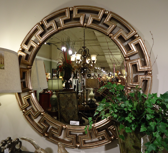 key tuscan decorative round designer wall mirror large 41 ebay