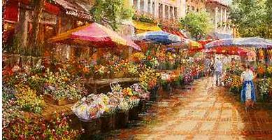 Marketplace Decor
