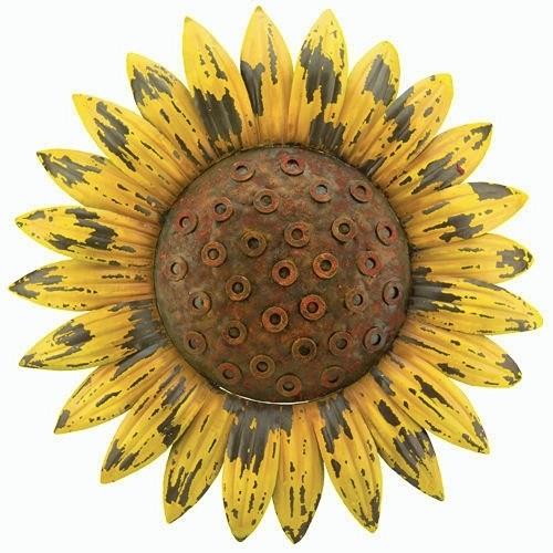 Merveilleux Description. Uniquely Designed Decorative Sunflower Wall ...
